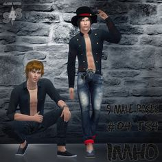 My Sims 4 Blog: Poses by IMHO