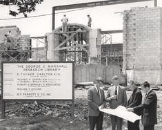 It's the 56th anniversary of our building's dedication. Follow the link for a photo essay of the events leading up to our construction.