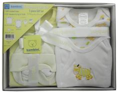 swakidsstore,Bambini 5 Piece Gift Box - Yellow
