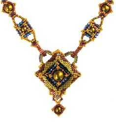 """Kimberly Stathis' """"Gilded Frames Necklace"""""""