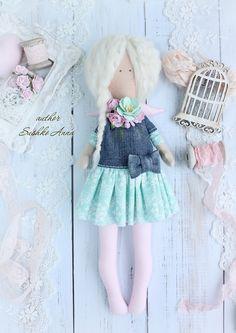 Текстильные куклы в стиле Тильда – Ангел, Т. Коннэ, игрушки Тильда и много других приятные мелочей от Анны Сушко. Все изделия 100% ручная работа.