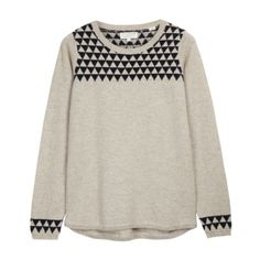 Triangle Shoulder Sweater