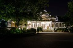 What makes the best LED for outdoor lighting in Nashville? Facade Lighting, Commercial Lighting, Curb Appeal, Outdoor Lighting, Nashville, The Best, Perspective, Deck, Mansions