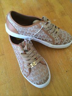 Michael Kors Rita 3 Mk Signature Tenis Zapatos Talla 5 youth womens  sneaker-nwt 46a4310c4d7