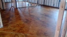 Golden wheat stain with mat finish