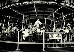 The hand-carved carousel that took countless riders round and round ...