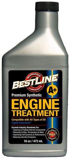 BestLine 853796001049 Premium Synthetic Engine Treatment for Gasoline Engines...