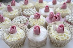 #wedding #cupcakes #elegant