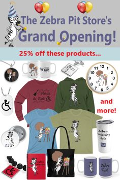 It's a grand opening! Come join the celebration, get your code for off, learn about what our new store has to offer, our giving program, and whew. Chronic Fatigue, Chronic Illness, Chronic Pain, Fibromyalgia, Helping Others, Helping People, Costochondritis, Interstitial Cystitis, Ehlers Danlos Syndrome