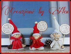Creazioni in Fimo Feltro Stoffa e Scrapbooking: Natale