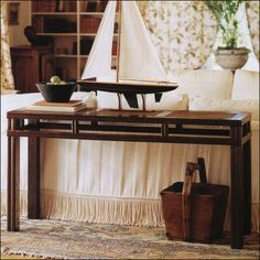 Palecek Crossings Console Table 7601-47 is on sale plus free delivery and no sales tax.