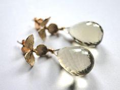 SALE Be Mine Jewelry, Gemstone Earrings, Quartz Gemstone Earrings, Gift for Her, Dangle Earrings, Elegant Earrings on Etsy, £41.68