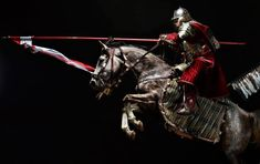 Husaria - Polish Hussars. Photograph by Andrzej Wiktor.