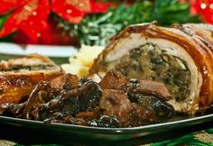 Baconba tekert pulykamell borban Meat Recipes, Chicken Recipes, Cooking Recipes, Queens Food, Hungarian Recipes, Hungarian Food, Christmas Dishes, Top 5, Bacon