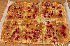 Яблочный пирог в карамельной глазури - Простые рецепты Овкусе.ру