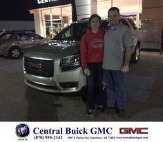 https://flic.kr/p/FwsueN | Congratulations Susan & David on your #GMC #Acadia from Justin Duckert at Central Buick GMC! | deliverymaxx.com/DealerReviews.aspx?DealerCode=GHWO