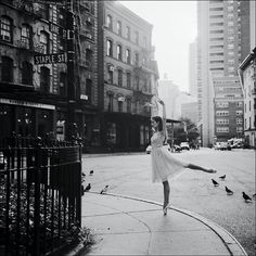 The urban ballerina ❤ liked on Polyvore featuring backgrounds, pictures, photos, people and dance