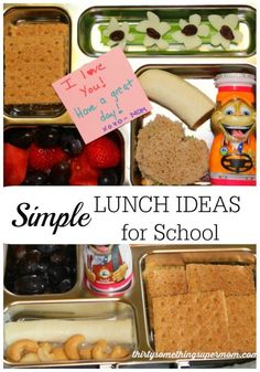 The kids are headed back to school! These tips for Simple Lunch Ideas will help keep you on schedule.  #FuelTheirAdventures #Ad