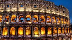 Wallpaper Building, Architecture, Palace, Travel, Tourism Architecture Art Nouveau, Ancient Architecture, Amazing Architecture, Building Architecture, Italy Architecture, Rome Photography, Scenic Photography, Night Photography, Amazing Photography