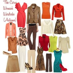 """The Curvy Woman's Wardrobe (Autumn)"" by l-edwards on Polyvore"