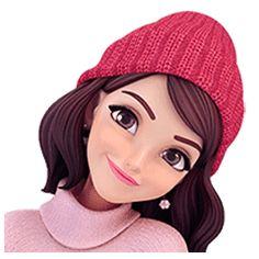Summer 2 (in Winter) by Yinxuan Li Dezarmenien Love Cartoon Couple, Cartoon Girl Images, Girl Cartoon Characters, Cute Cartoon Pictures, Cute Cartoon Girl, Cute Love Cartoons, Cartoon Art, Cartoon Drawings, Cute Pictures