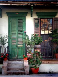 New Orleans - many beautiful and unique homes can be found throughout New Orleans.