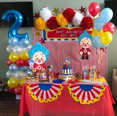Plin plkn Diy Mermaid Birthday Party, Dumbo Birthday Party, Carnival Birthday Parties, Circus Birthday, Unicorn Birthday Parties, Baby Birthday, Birthday Party Themes, Birthday Ideas, Circus Theme Party