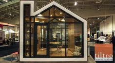 Tilt Turn Energy Efficient Windows And Doors, Patio Doors, Exterior Doors and Windows Modern Spaces, Small Spaces, Energy Efficient Windows, Micro House, The Gables, Prefab Homes, Modern Exterior, Patio Doors, Exterior Doors