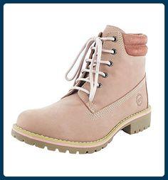 Marco Tozzi Leder Boots rose Gr. 40 - Mary jane halbschuhe (*Partner-Link)