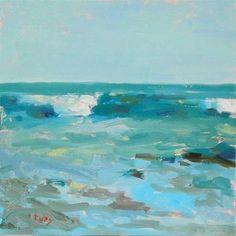 """Low Tide"" - Original Fine Art for Sale - © Randall Cogburn"