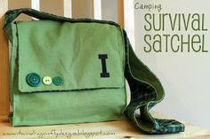 Dragonfly Designs: Little Boys Survival Satchel