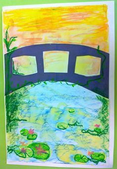 MASTERS IN THE MORNING ART CLASS- CLAUDE MONET (5-12 YEARS) Kidcreate Studio- Eden Prairie & Woodbury, MN