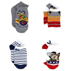 Mickey Mouse Clubhouse Toddler 4 pack Socks #MickeyMouse #Pluto #Dog #Pilot #Plane #Aviation #CoPilot #Mickey #Disney #SocksforKids #BacktoSchool