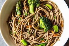 Spring Soba Noodle Salad -- going to Hana Market and buying the ingredients to make this one this weekend!