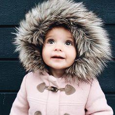 love her warm + cozy style