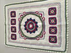 Crochet puset battaniyesi