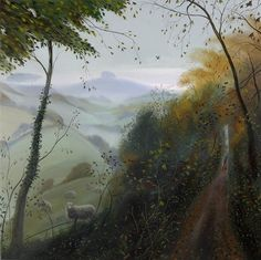 "Nicholas Hely Hutchinson ""November Afternnon - Towards Win Green"""