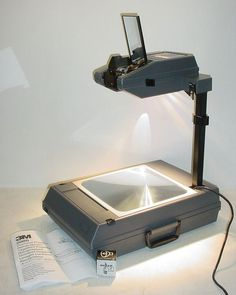 3M 2000 AG Portable Overhead Projector Fold Up Briefcase Style Tested Working | eBay