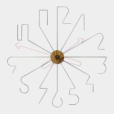 Mark Prommel | Wire clock