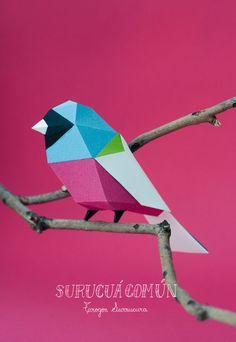 Un duo d'artistes rend hommage au monde animal à travers de somptueux origamis colorés | Daily Geek Show
