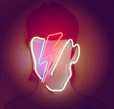 Bowie! Neon Art//Neon LOVE!!!