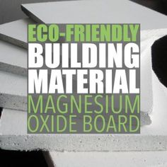 Eco Friendly Drywall Alternative by Of Houses and Trees | Magnesium oxide board is an eco-friendly drywall alternative made with naturally-occurring materials using an environmentally friendly process. Visit http://ofhousesandtrees.com for posts on architecture, interior design, DIY projects, sustainability, crafts, gardening, home decor and healthy eating.