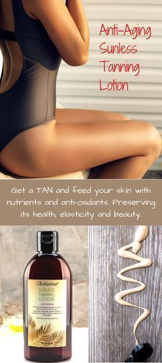 Get a Dark Golden Tan without the Sun. Give your skin radiance and color without the need of a tanning bed or the sun.