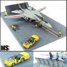 Plastic Model Kits, Plastic Models, Tomcat F14, Uss Nimitz, Bmw Cafe Racer, Military Modelling, Military Diorama, Flight Deck, Model Airplanes