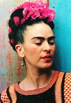 Frida Kahlo was a Mexican artist best known for her self-portraits that played with identity and gender norms, a revolutionary, and a Communist. #WomenResist