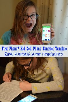 First Cell phone needs a kid cell phone contract. This free printable template can get everyone started on the right foot when you #RockTheHolidays with this gift. Fortunately, I chose Music Freedom with T-Mobile's Simple Choice™ so I don't have to worry about extra charges as she rocks her music playing DJ with her friends! AD
