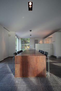 The Verheyen house by Architecture Bureau ToonSaldien