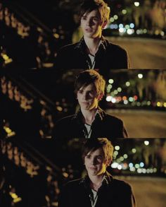 Freddie Highmore - The Art of Getting By. So done. So done. In love *drools*. He even looks adorable crying, granted, I want to hug him now.
