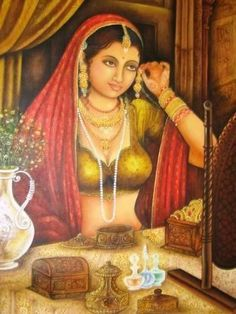 1000+ images about Painings of Indian women on Pinterest | Indian Paintings, Indian Art and Old Master www.pinterest.com236 × 314Buscar por imagen India Art, Rajasthan Cottage, Jaipur Rajasthan, Only Indian Art, Art'S Power, India Jewels, Indian Paintings, Portrait Paintings, Portraits Visitar página 	 Ver imagen 	  Guardar  	 Ver guardadas
