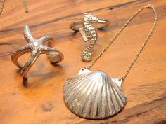 Estrela do mar, cavalo marinho e conchas: essas são apenas algumas das inspirações usadas pelad [...]